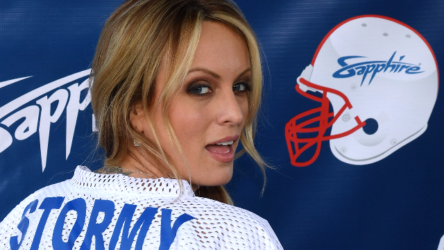 Stormy Daniels was a warn guest on final night's mythological 'SNL#x27 cold open