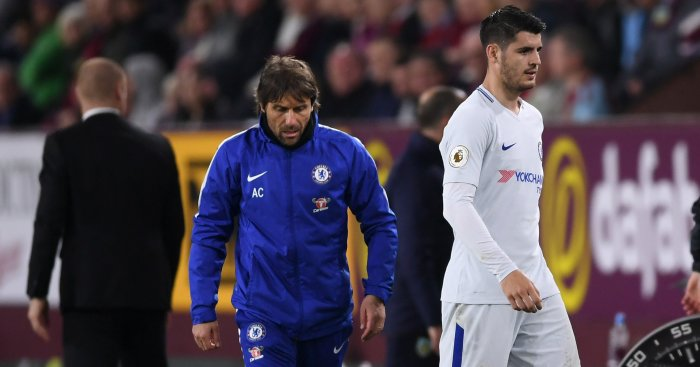 Chelsea Supporters Cannot Believe This Miss By Morata