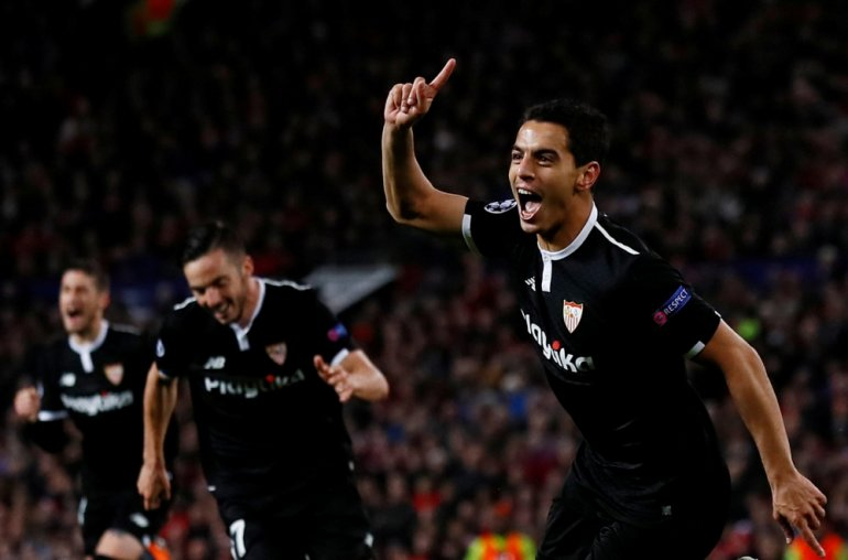 Champions League Manchester United pile-up out after Sevilla's Ben Yedder strikes twice